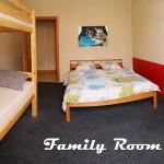 Family Room, Cinnamon Sally Backpackers Hostel, Riga, Latvia